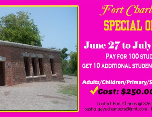 Special Offer on Fort Charles Tour June 27 – July 31, 2018