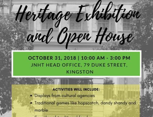 JNHT Heritage Exhibition and Open House
