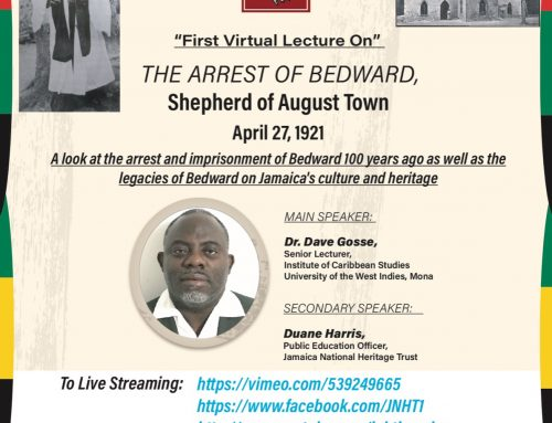 Join us for our first virtual lecture that will stream live on our social media pages.